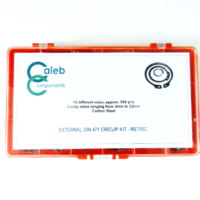 Assorted Circlip & E-Clip Packs